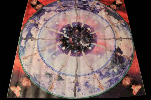 магический круг для работы с монадой