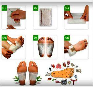 лечение через стопы ног
