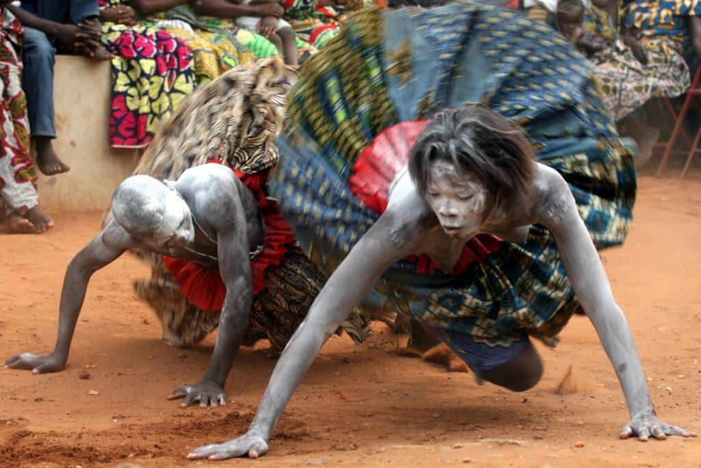 Ритуальный танец «мамбо»