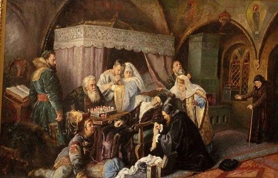 Смерть царя Ивана Грозного
