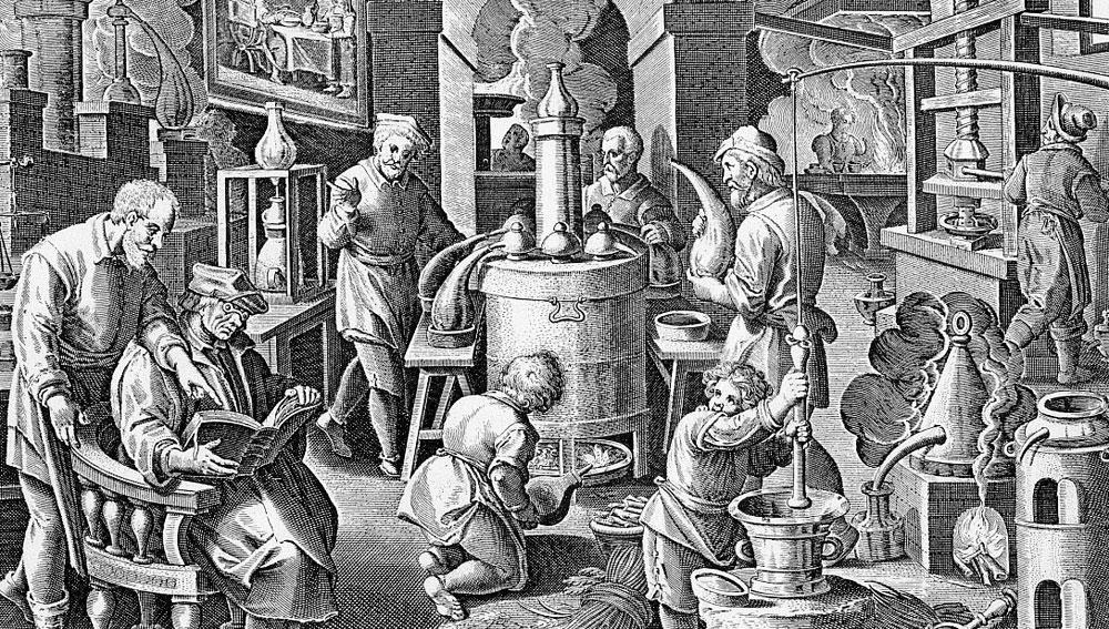 В поисках Философского камня - придворные алхимики русских царей