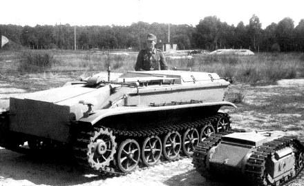 Радиоуправляемая танкетка Borgward-IV, 1943 г.