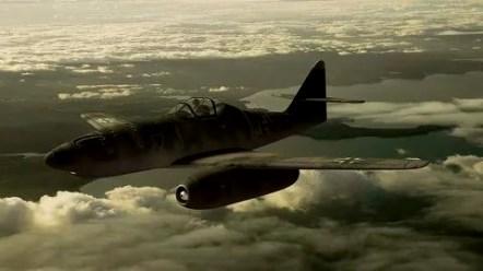 Реактивный самолет МЕ-262,1944 г.