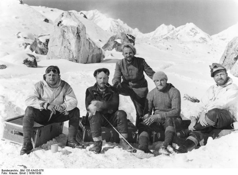 Участники Тибетской экспедиции сотрудники «Аненербе» 1938-1939 г.