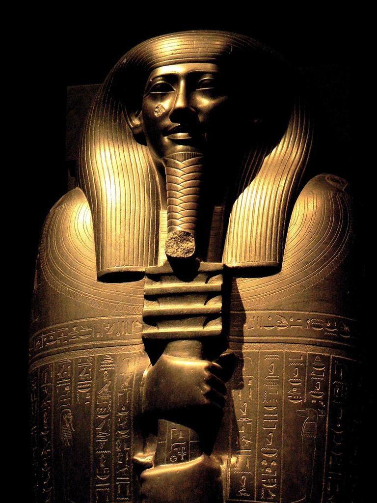 древний саркофаг египет