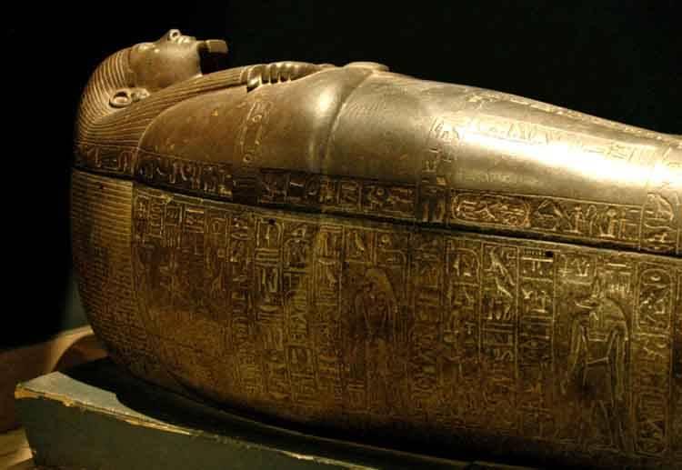 саркофаг магия египта